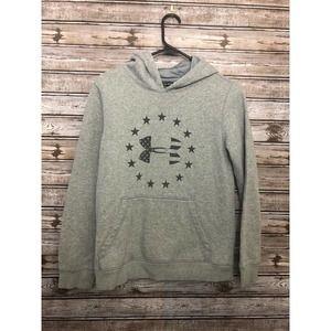 Under Armour Youth Sweatshirt Large Grey